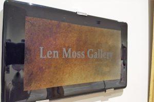 HAC dedicates Len Moss Gallery